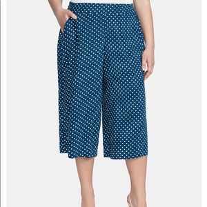Jessica Simpson High Rise Cropped Wide Leg Pants